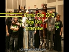 NYC Comic Con 2012 New Gen interview