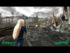 Fallout 3 Modded - Fellout / Shojo Race / Enhanced Weather Showcase