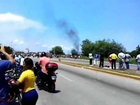 Protesta en Puerto Cabello de Bandos Politicos Parte 2