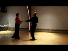 Ted & Deb West Coast Swing demo at Blue Moon Ballroom on 02-15-2013.MOV
