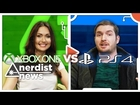 XBOX ONE vs PLAYSTATION 4 - DLC: Nerdist News with Jessica Chobot BONUS
