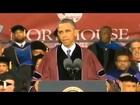 Obama Speech at Morehouse - Full commencement speech