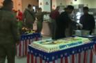 U.S. Soldiers Celebrate Thanksgiving in Afghanistan