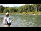 Huge Steelhead and Trophy Chinook Salmon flyfishing in British Columbia, Canada with FishSkeena