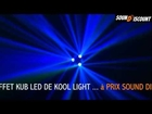 EFFET KOOL LIGHT BARRE 4 EYES + EFFET KUB LED KOOL LIGHT... DMX