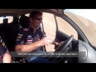 Mark Webber tests Renault Duster in Oman desert