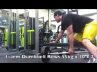 Short Back and Biceps Workout with Weighted Chinups Kroc Rows and Straight Arm Lat Pulldowns