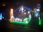 Animated Christmas Lights, Paul Toole - Wells Somerset  (Nutcracker Trepak)