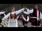 Folk Dance Group WAWEL perform a Polish dance Polonez at Dozynki Harvest Festival in Houston