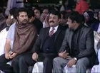 Mohanlal/Lalettan caught in a funny mood at Asianet Film Awards - 2014