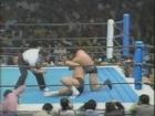 Tatsumi Fujinami vs Riki Choshu - 3 avril 1983