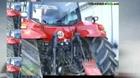 New Holland Tractor , antique farm machinery, antique john d