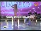 FarandulaTv.com.ar Erika Mitdank bailo el ritmo del adagio en Bailando 2011