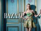 Maud Welzen in Haute Couture by Benjamin Kanarek for Harper's BAZAAR